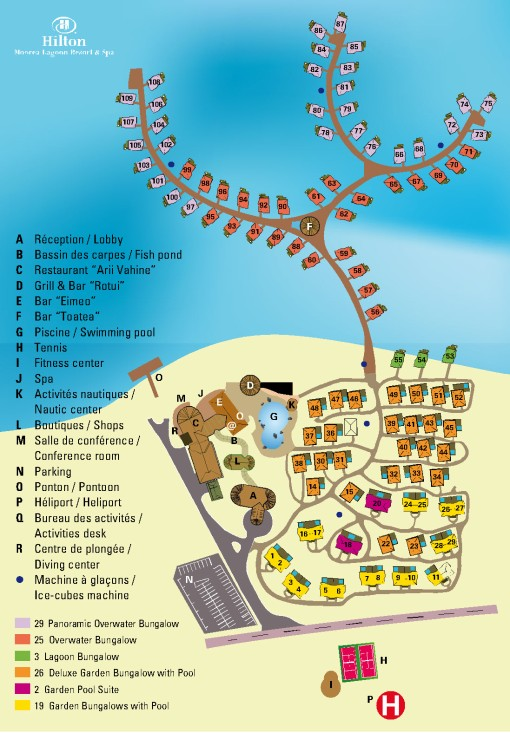 Hilton-Moorea-Map