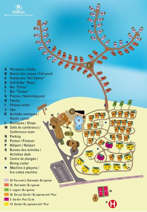 Hilton-Moorea-Map
