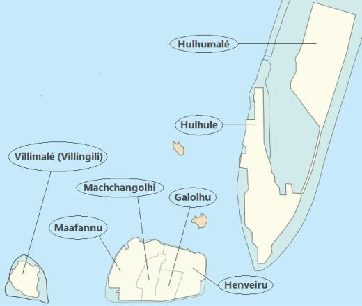 Wards of Malé